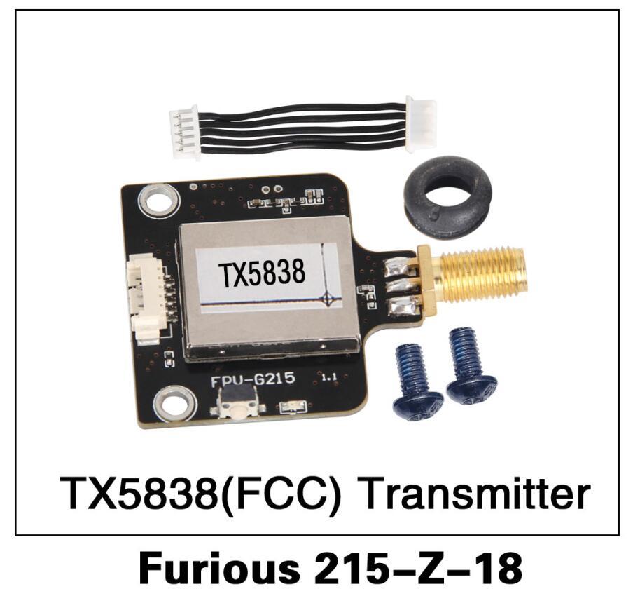 Original Walkera Furious 250 Spare Parts Furious 215-Z-18 TX5838(FCC) Transmitter for Furious 215 FP