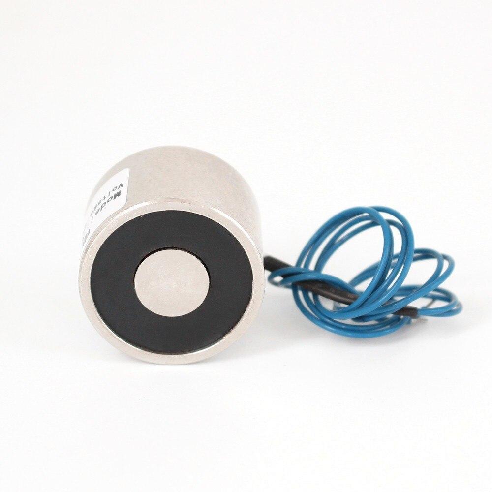 Alta qualidade 20 kg 34/25 dc 6 v 24 v 12 v eletroímã de elevação otário solenóide segurando ímã elétrico, aceitar personalizado não-padrão