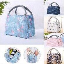 Fashionable Striped Handbags Custom Made Large Capacity Canvas Home Storage Lunch Bags Waterproof Bag Multifunctional