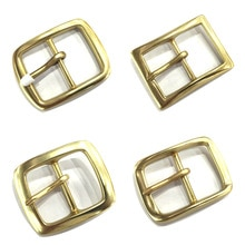 Boucles de ceinture en laiton pur homme   Échantillon rétro de haute qualité, accessoires Jeans en cuivre pur adaptés à la ceinture de 4-4.2cm, cadeau