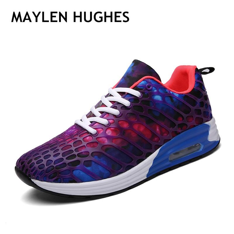 FABRECANDY 2018 Hot sale zapatos de hombre transpirables zapatos de Casula hombres de alta calidad cordones ligeros Unisex zapatos de hombre más size35-45