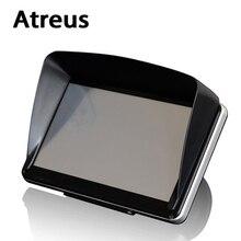 Atreus Universal 5''/ 7'' Car GPS Sun Shade Visor Shield Protective covers for Nissan qashqai Citroen c4 c5 c3 Chevrolet Peugeot