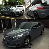 cement grey ultra gloss vinyl wrap cement glossy nardo gray car wrap film with air free bubble size1 5220mroll 5x65ft