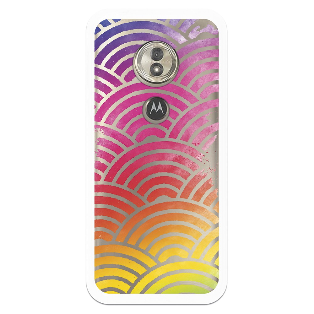 Funda Dibujo Wifi WP008 para Motorola Moto E5 / G6 Play