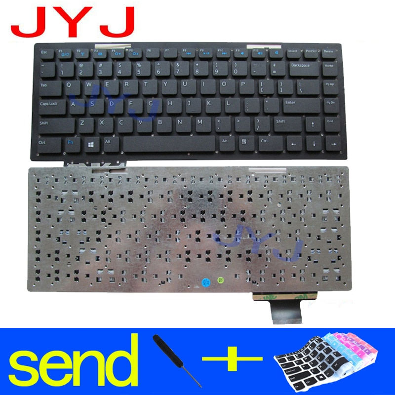 New laptop Keyboard for Dell Vostro 5560 V5560 P34F P34H Send a transparent protective film
