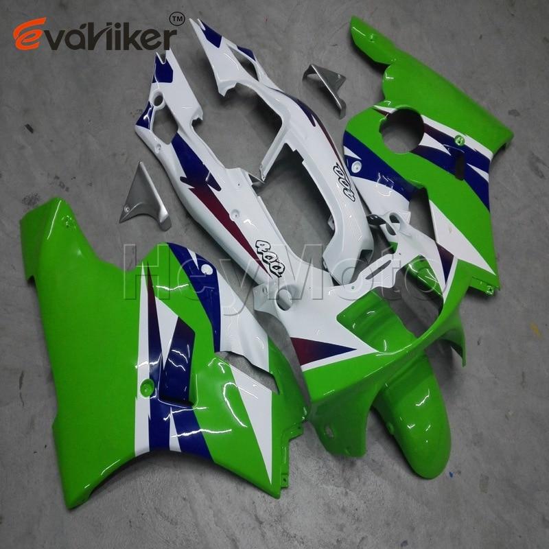 ABS هدية ل ZXR400 1991 1992 1993 1994 1995 1996 الأخضر ZXR 400 91 92 93 94 95 96 دراجة نارية البلاستيك عدة