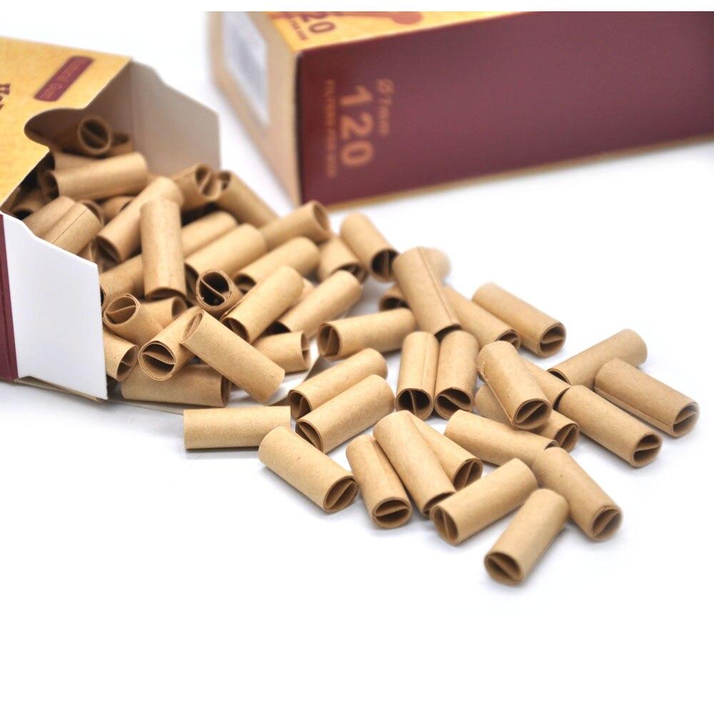 HORNET DANGER 120x / 100x HORNET Pre Rolled Natural Unrefined Cigarette Filter Rolling Tips 7MM Rolling Filter hornet