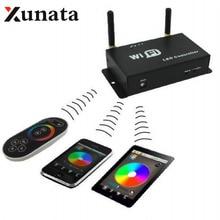Controladores LED WiFi SPI controlador Android IOS apoyo WS2811 WS2812B LPD6803 WS2801 LED Pixel WIFI300