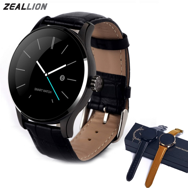 ZEALLION K88H Smart Watch Clock Sync Notifier Support Heart Connectivity Pedometer For Android iOS Phone Smartwatch