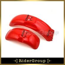 Red Plasctic Front Rear Fender For Honda Z50 Z50A Z50J Z11 Z125 Gorilla Bike
