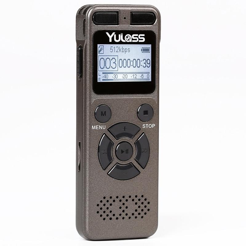 Digital Voice Recorder Professioneller Verkauf Huiton Mini 3 In 1 Stereo Mp3 Musik-player 8 Gb Speicher Usb-stick Mini Digital Audio Kleinste Voice Recorder Tragbares Audio & Video