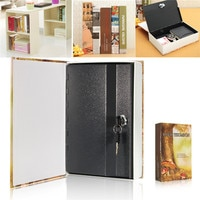 Jewellery key Locker For Kid Gift Mini Safe Box Book Money Hidden Secret Security Safe Lock Cash Money Coin Storage