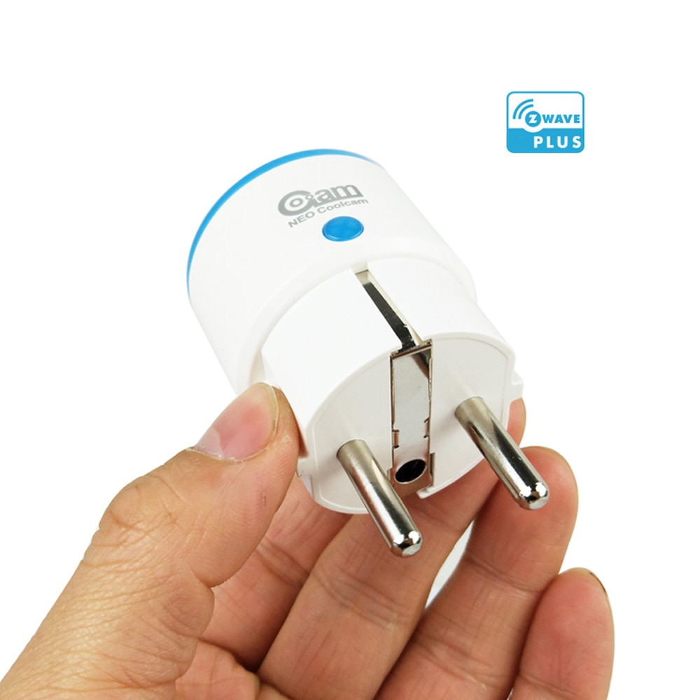 Coolcam Z-WAVE PLUS EU Smart Power Plug Socket For Zwave Home Automation Alarm System Z wave 868.4MHz Frequency