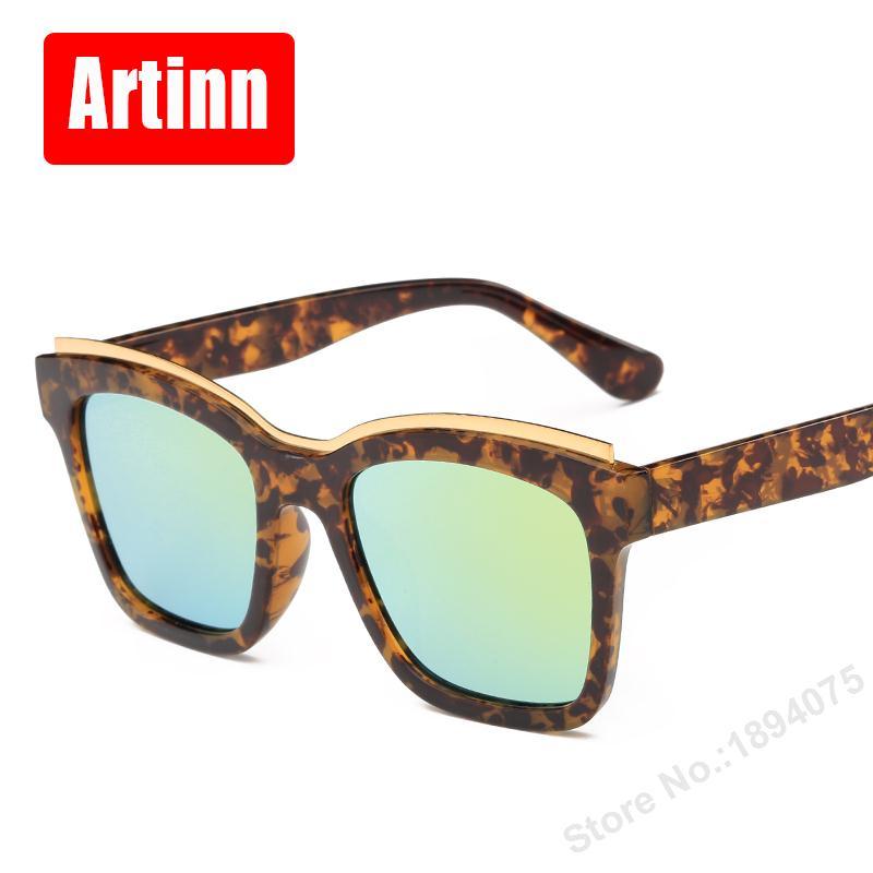 Gafas de sol doradas de calidad de lujo para mujer, marca de diseñador 2017, gafas de sol Retro de gran tamaño Retro para hombre 9213D