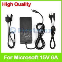 90 watt 15 v 6A ladegerät 1749 laptop ac adapter für Microsoft Oberfläche buch Pro 4 Docking Station modell 1661