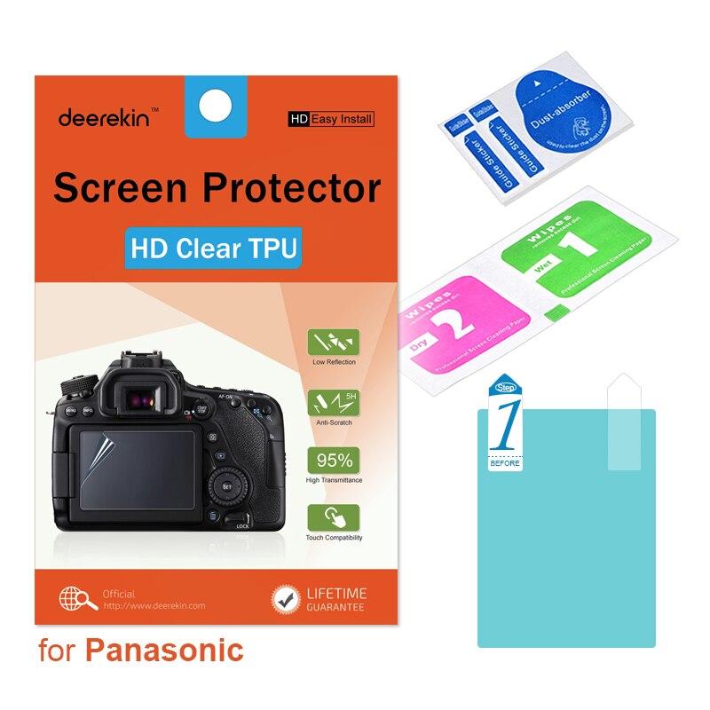 Deerekin HD Мягкий ТПУ экран протектор для Olympus E-M1/II E-M5II E-M10 Mark II III E-PL9 E-PL8 E-PL7 E-PL10 стилус 1/1s