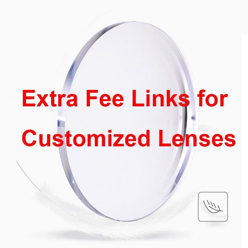 Cargos adicionales para lentes personalizadas, envío o muestras, 15 USD/pieza
