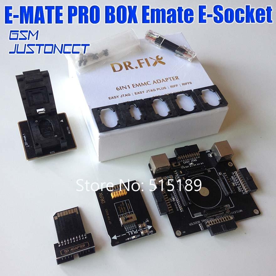 EMMC برو محول لسهولة JTAG/سهلة JTAG التوصيل/UFI/RIFF/RIFF2/ميدوسا/GPG /ORT eMMC مربع مبرمج قراءة BGA153/162/221/529