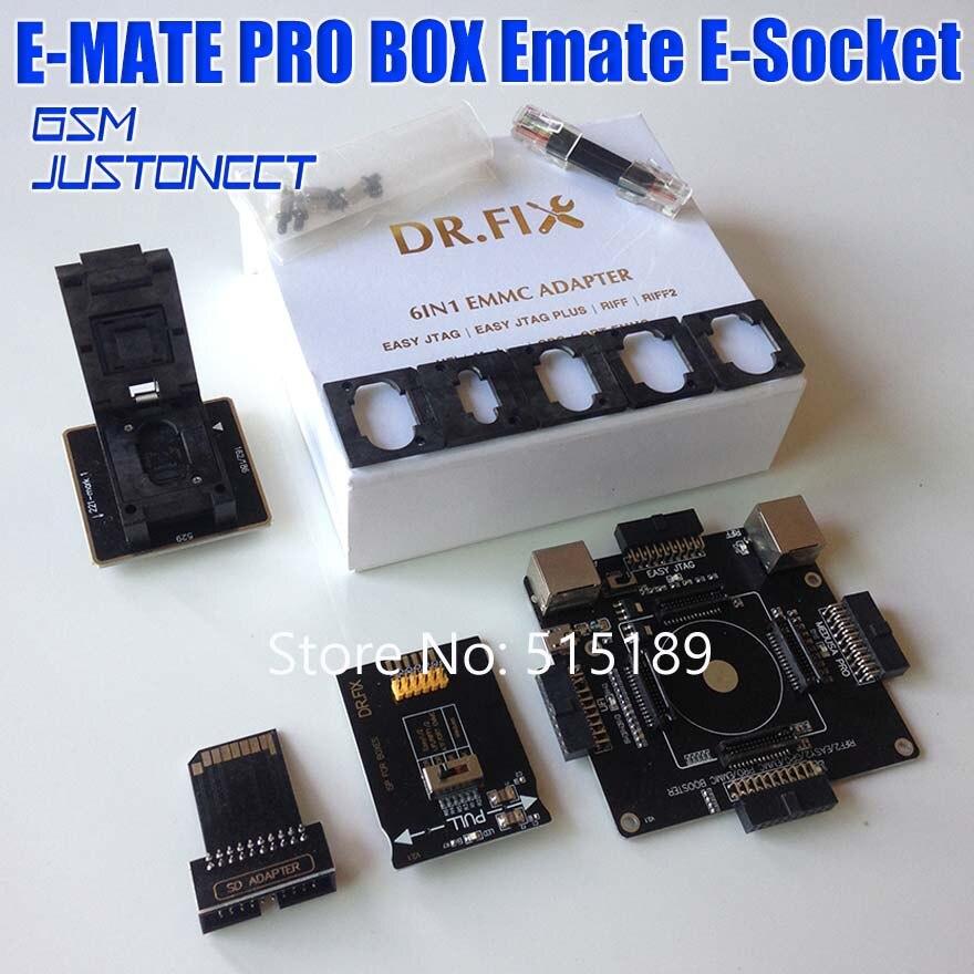 EMMC pro Adaptador para JTAG FÁCIL/FÁCIL Plugue JTAG/UFI/RIFF/RIFF2/Medusa/GPG /ORT Caixa eMMC Programador Ler BGA153/162/221/529