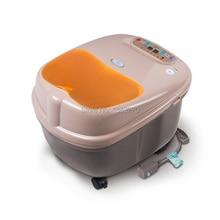 Massage chauffant bain de pieds salon de beauté désintoxication pied spa machine électrique laveuse de pieds soins de santé