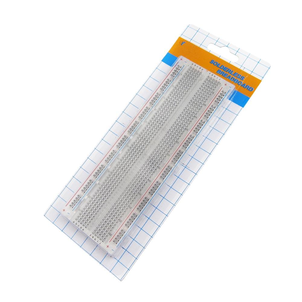 Aliexpress - MB-102 Solderless Breadboard 830 Points for Prototyping