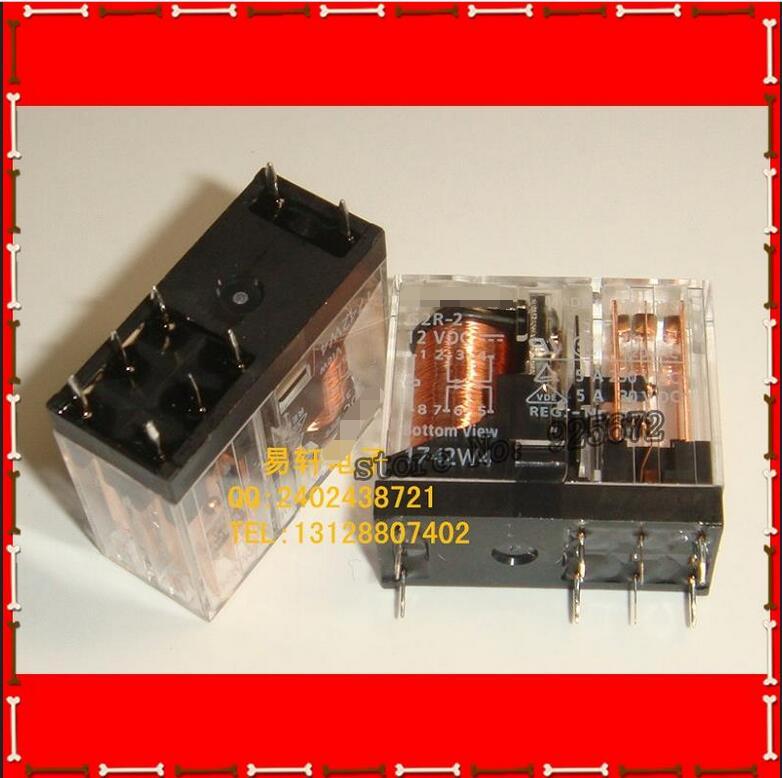 Envío Gratis 100% nuevo original G2R-2-12V G2R-2-12V G2R-2 DIP-8