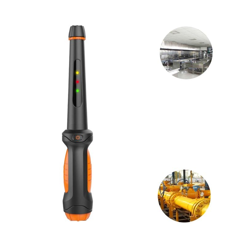 Sensor de alarma de Gas Natural, Detector de fugas portátil, probador de Gas butano y propano