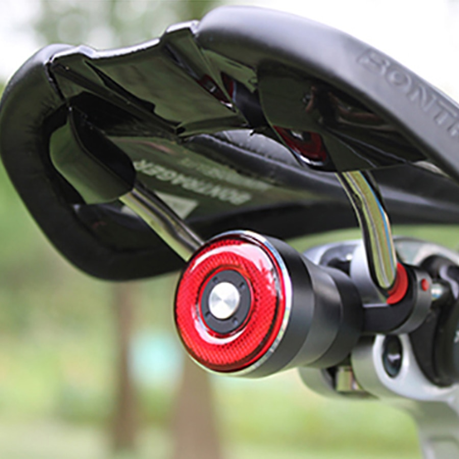 Bicicleta inteligente luz da cauda q5 freio de bicicleta sensing lanterna ciclismo auto start/stop luz traseira carga usb ip56 led ciclismo luz