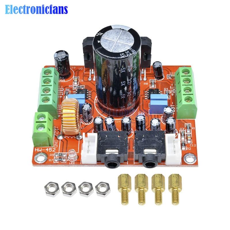 Fever Class TDA7850 Power Amplifier Board 4 Channel Car Power Amplifier Board Module DC 12V 4X50W with BA3121 Noise Reduction