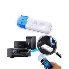 USB Aux bluetooth car kit Mini Wireless Audio Music Receiver Adapter For Car FM Radio Mp3 player Speaker