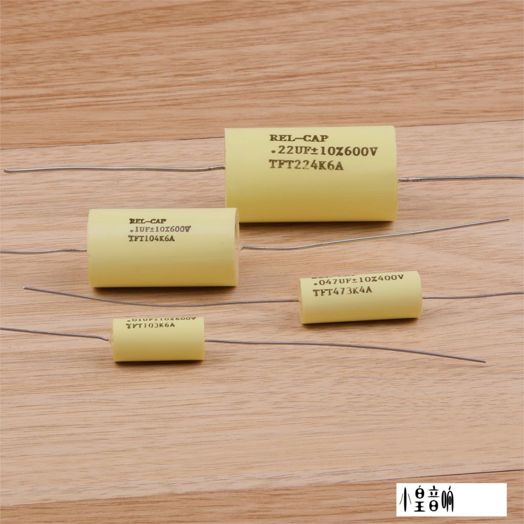 1PCS Top SELL American original Rel-Cap TFT capacitor 0.01uf-0.47uf 200V-600V Audio capacitor free shipping