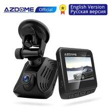 AZDOME DAB211 Ambarella A12 voiture   Caméra de tableau de bord 2K 1440P, Vision Super nocturne, caméra de Dashcam, enregistreur DVR avec GPS, enregistrement en boucle dadas