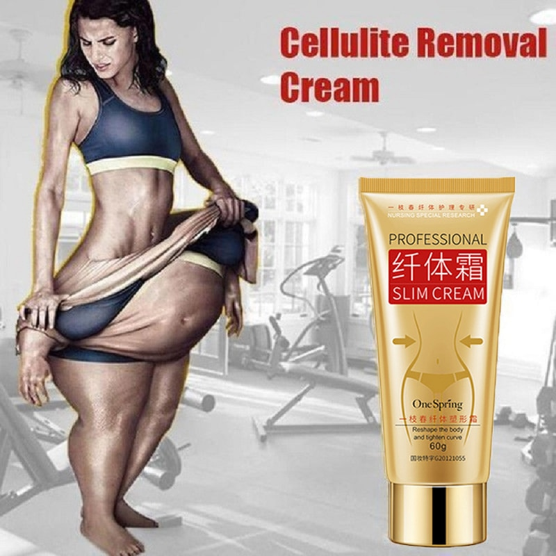 60g Slimming Cream Cellulite Removal Fat Burner Weight Loss Slim Creams Leg Body Waist Effective Anti Fat quemador de grasa