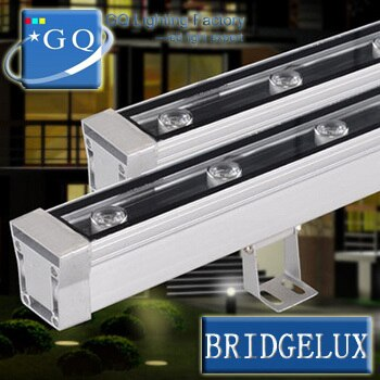 6pcs DHLFedex 36W LED Wall Washer DMX512 led wash Lightcold warmwhitegarden yardwasher light landscape halogen down lightinglamp