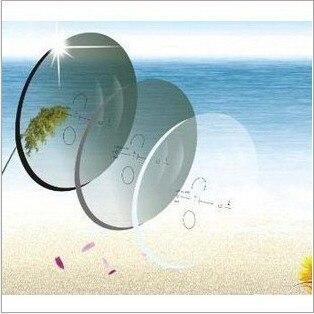 1.56 Index Aspheric Progressive Photochromic Addition Multifocal Transition Lens Prescription Myopia/Hyperopia/Presbyopia 2 PCS