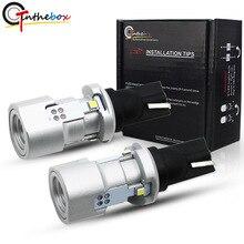 Gtinthebox T15 LED Wedge Bulb W16W Led Lamp Light Canbus OBC Error Free 921 912 Automobiles Backup Reverse 6000K White 12V