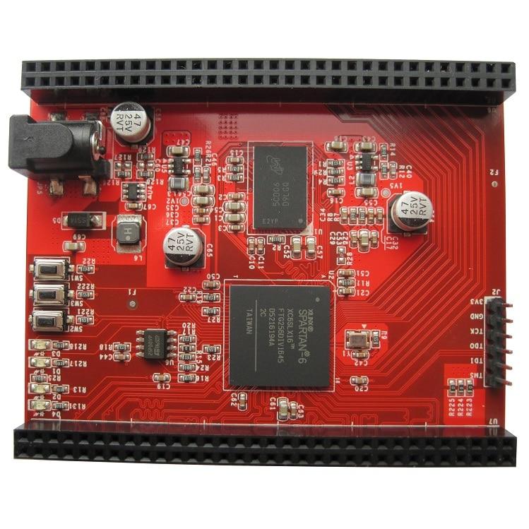 Spartan6 NEW board XILINX FPGA DDR3 Spartan-6 core board XC6SLX16 development board learning board basys2 100 spartan 3e xilinx fpga