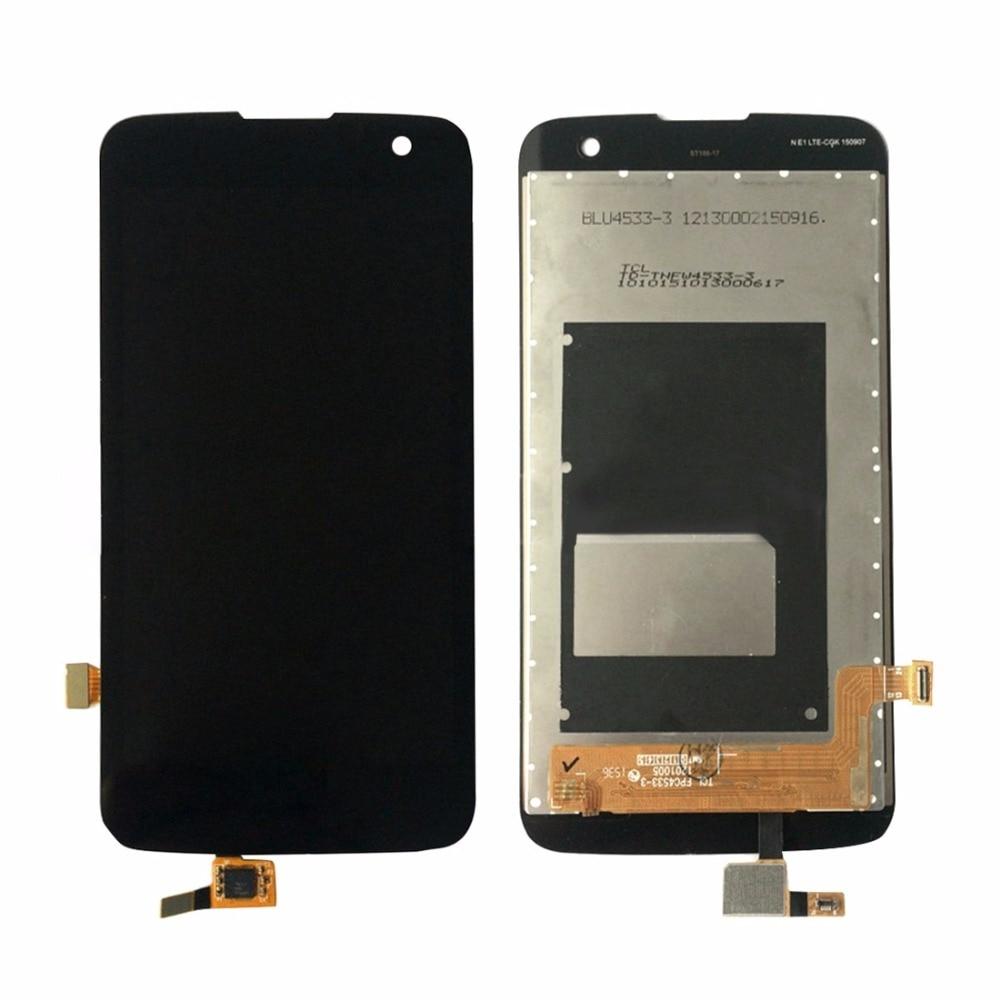 iPartsBuy LCD Screen and Digitizer Full Assembly for 4.5 inch LG K4 LTE (EU Version) / K120AR / K120E / K120
