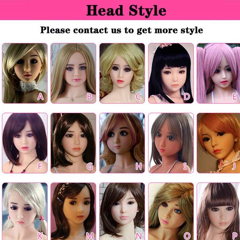 Muñecas de amor de tamaño Real cabeza de muñecas de sexo oral cabeza tpe ajuste realista 100 cm/105 cm/108 cm/110 cm/115 cm/120 cm/122 cm/125 cm envío por DHL