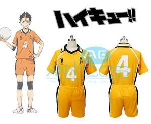 Haikyu Haikyuu!! Karasuno High School Hinata Shyouyou  Jersey Club T Shirt Shorts Anime Cosplay Costume
