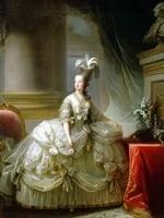 classical figurative painting canvas portrait poster beauty picture elisabeth louise vigee lebrun archduchess marie antoinette