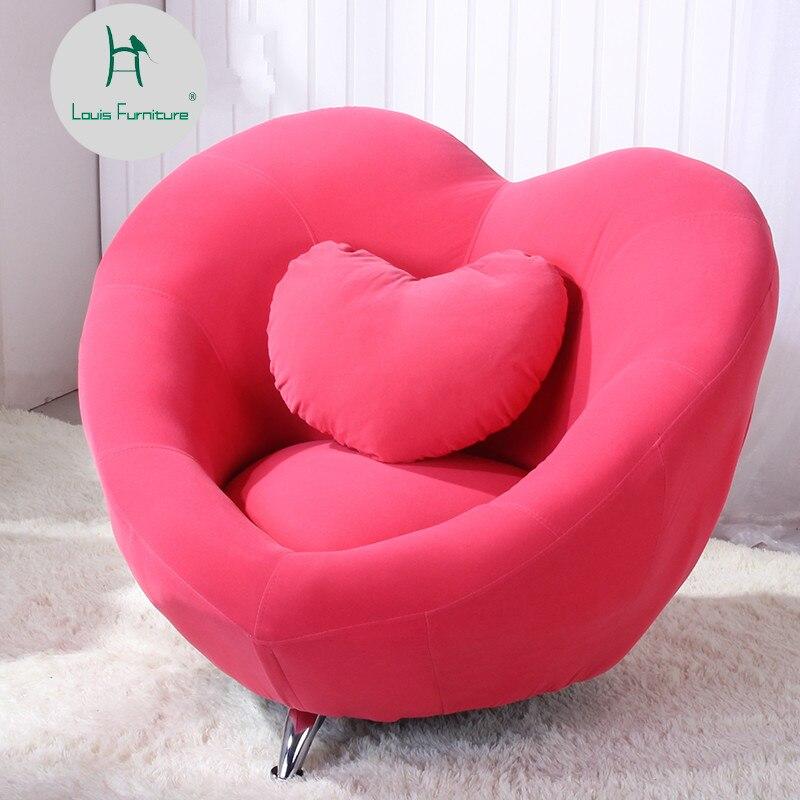 Стильный Креативный индивидуальный диван Louis Fashion для отдыха и ленивости