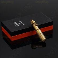 JiFeng puro cobre tallado viaje cigarro Punch Fit Cohiba cigarros en caja de regalo
