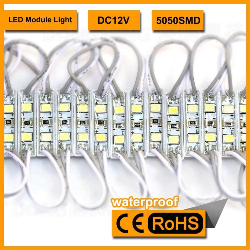1500pcs/lot wholesale IP65 led modules display DC12V white background smd3528 LED module lights red blue yellow green white