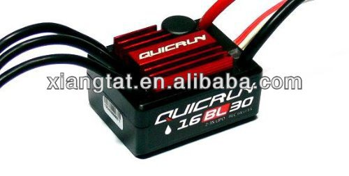 HOBBYWING QUICRUN WP16BL30 WP 30A R/C Brushless Sensorless Motor 30A ESC Speed Controller for 1/16 Buggy /Monster