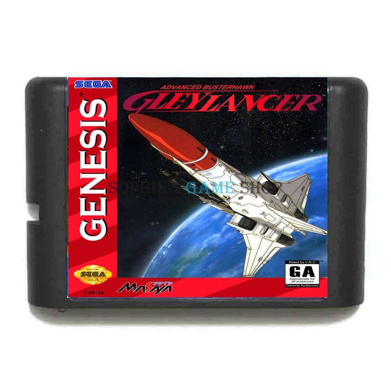 Gleylancer Game Cartridge Newest 16 bit Game Card For Sega Mega Drive / Genesis System
