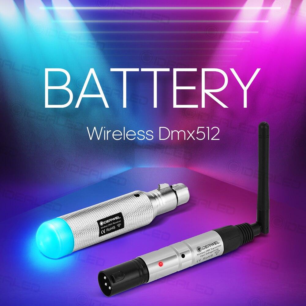 Dmx efekt świetlny bateria bezprzewodowa 2.4 GISM 500m Dmx512 odbiornik nadajnik odległość komunikacja odbiornik muzyka DJ Club Disco