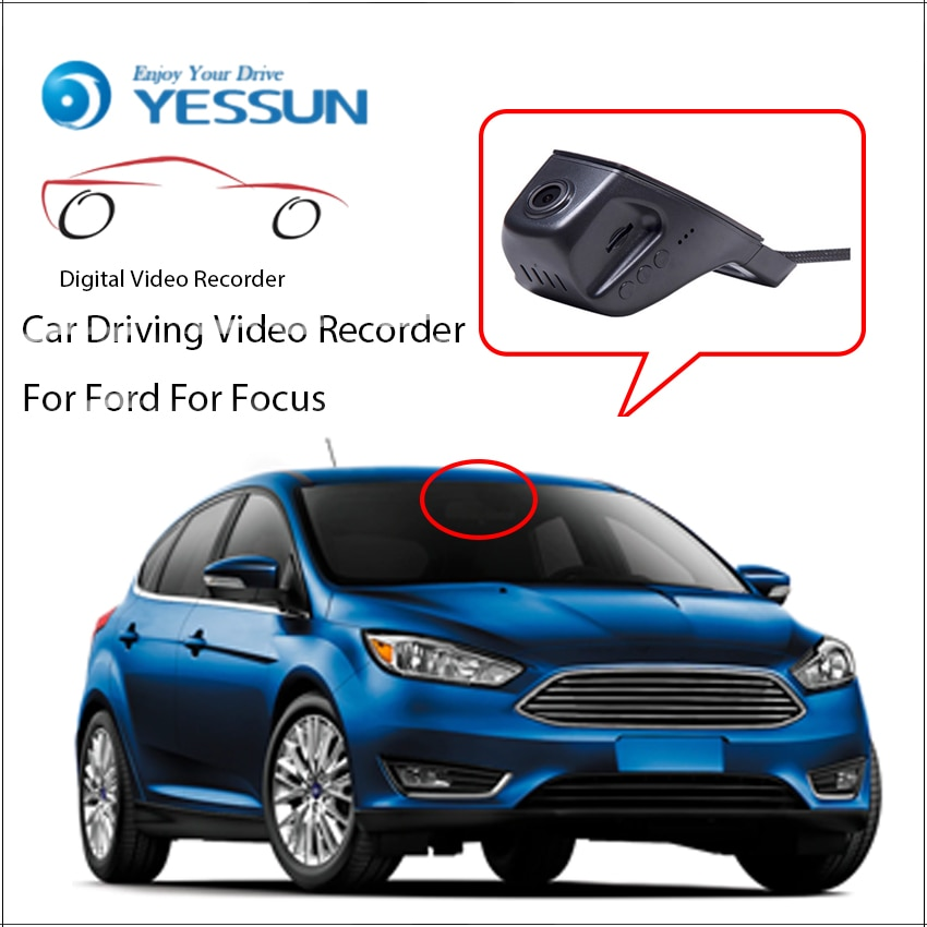 YESSUN Car DVR Driving Video Recorder for Ford Focus Automotive Front Dash Camera  HD 1080P Not Rear Back Camera