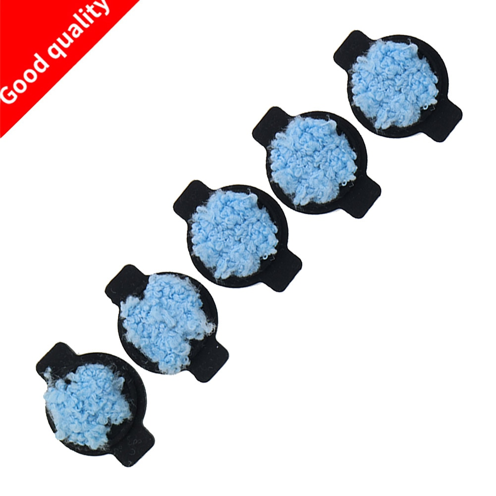 Braava 5 pçs/lote Pavio Água Cap kit para iRobot 380 380t 320 Mint 4200 4205 5200 5200C Peças de substituição do Robô Aspirador de pó