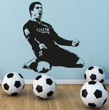 Décalcomanie murale Luis Suarez   Décoratifs pour joueur de Football, Vinilos de barcelone, décoration murale de victoire en chambre pour enfants et garçons, décoration murale pour la maison, FC 428